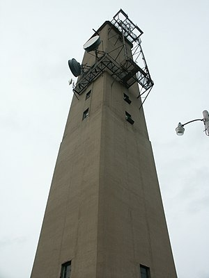 AT&T Communications - Long Lines relay tower in Indiana.