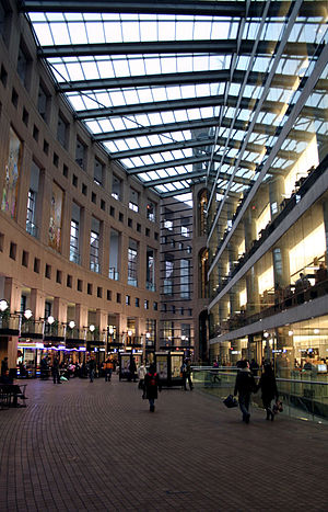 Vancouver Public Library - The promenade of the library's central branch