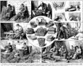 Vannerie. Basketwork. Book illustration (encyclopedia plate line art) Larousse du XXème siècle 1932.png