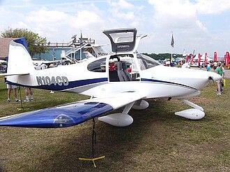 Van's Aircraft RV-10 - An RV-10 at the Van's Aircraft display at Sun n Fun 2006 in Lakeland Florida
