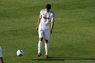 Raphaël Varane - Varane training with Real Madrid in 2011.