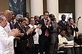 Venezuela,VII Cumbre de Jefes de Estado y de Gobierno de (PETROCARIBE) y el ALBA (9364020715).jpg