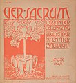Ver Sacrum, Issue 1, January 1898.jpg