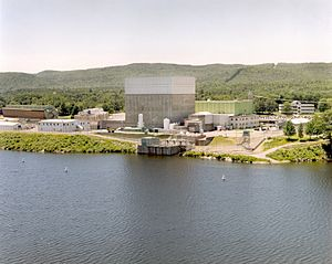 The Vermont Yankee Nuclear Power Plant.
