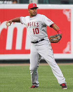Vernon Wells - Wells playing for the Los Angeles Angels in 2011