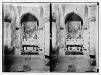 Via Dolorosa, beginning at St. Stephen's Gate. Interior of Third Station. LOC matpc.05433.jpg