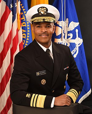 Surgeon General of the United States - Image: Vice Adm. Jerome M. Adams (2)