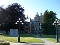 Victoria Legislature building from rear right - panoramio (1).jpg