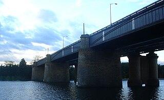 Victoria Bridge (Penrith) bridge over the Nepean River in New South Wales, Australia