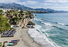 View from Balcón de Europa in Nerja 2014.jpg