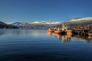 Gratangen Municipality in Troms og Finnmark, Norway