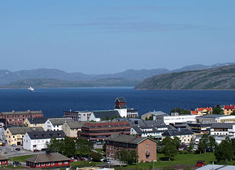Kirkenes - Another view of Kirkenes.