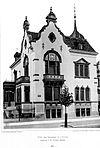 Villa, Karl Tauchnitzerstr. 55, Leipzig, Architekt E. M. Pommer, Leipzig, Tafel 93, Kick Jahrgang II.jpg