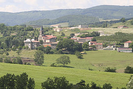 A general view of Saint-Sylvestre