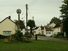Village sign at Cressing, Essex - geograph.org.uk - 224490.jpg