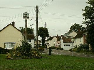 Cressing Village in Essex, England