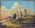 Vilnia, Śnipiški, Jezuicki. Вільня, Сьніпішкі, Езуіцкі (F. Denisyev, 1853).jpg