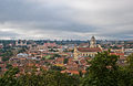 Vilnius old town from Castle Hill, Lithuania, 14 Sept. 2008 - Flickr - PhillipC.jpg
