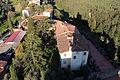 Vinci, castello dei conti guidi, veduta della torre 02.JPG