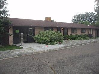 Vineyard, Utah - Original Vineyard town office
