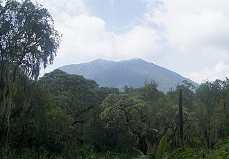 Karisoke Research Center - Mount Bisoke
