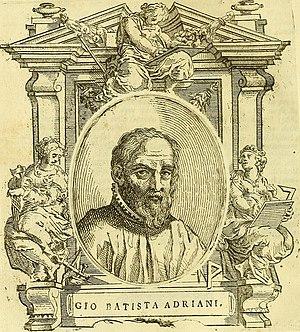 Giovanni Battista Adriani - Giovanni Battista Adriani