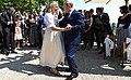 Vladimir Putin at the wedding of Karin Kneissl (2018-08-18) 11.jpg