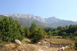Vlašić (Bosnian mountain) - Paljenik (peak)