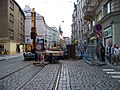 Vodičkova, rekonstrukce tramvajové trati, od Palackého k Lazarské.jpg