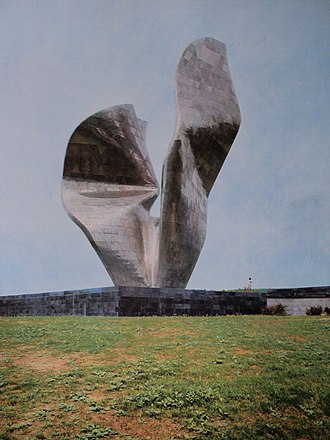 Kamenska - Monument to the victory of the people of Slavonia