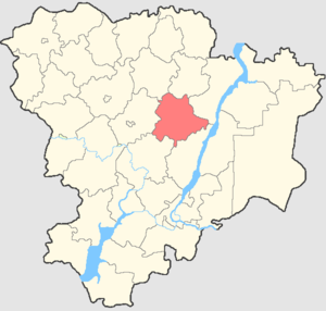 Olkhovsky District - Image: Volgogradskaya oblast Olkhovsky rayon