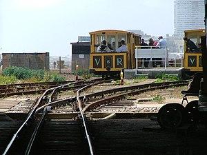 Volk's Electric Railway - Halfway station