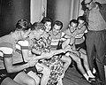 Voorbereiding Tour de France in Mulhouse (Frankrijk) Zangeres Marchiola Adriana , Bestanddeelnr 910-4638.jpg