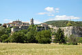 Vu des rives du Rhône.JPG