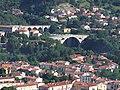 Vue Sud-Est du Pont du Diable depuis la montée au mas Boher.jpg