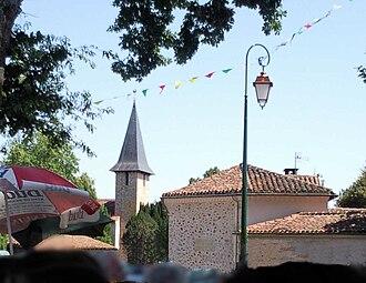 Bélis - The village during the festival