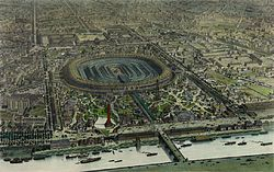 Exhibition Palace of the World's Fair on Champ de Mars