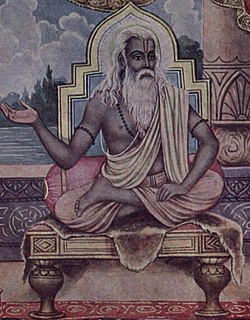 Vyasa central and revered figure in most Hindu traditions