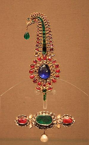 Sarpech - Jadau sarpech (turban ornament), 18th-century