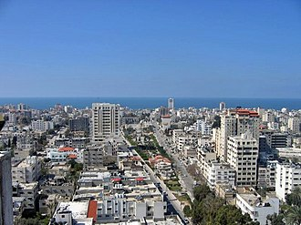 Gaza City - Gaza City in 2009