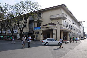 Lyceum of the Philippines University - LPU during regular school days.