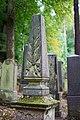 Waibstadt - Jüdischer Friedhof - Neuer Teil Reihe 7 - Grabstein mit 3. Obelisk 1.jpg