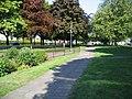 Walkway alongside St Oswald's Way - geograph.org.uk - 813966.jpg