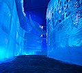 Walls made of ice blocks at the Snow and Ice Festival in Bruges, Belgium.jpg