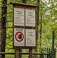 Wandeltocht rond Lago di Pian Palù (1800 m). in het Nationaal park Stelvio (Italië). Informatiepaneel.jpg