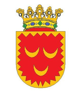 Crescentius the Younger - Coat of Arms of Crescenzi family.