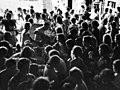 War In Malaya, Refugees from Penang at IPOH Station, Berak, on way to Singapore (23916867524).jpg