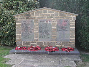 Broadbridge Heath - War Memorial, Broadbridge Heath
