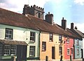 Wareham, pastel colours in Church Street - geograph.org.uk - 532834.jpg