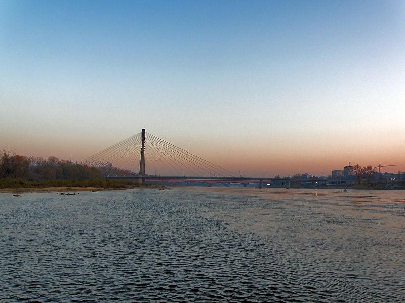File:Warszawa - Wisła 2011 - Most Świętokrzyski (1).JPG